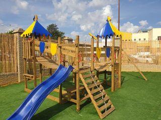 Venta de parque infantil de madera
