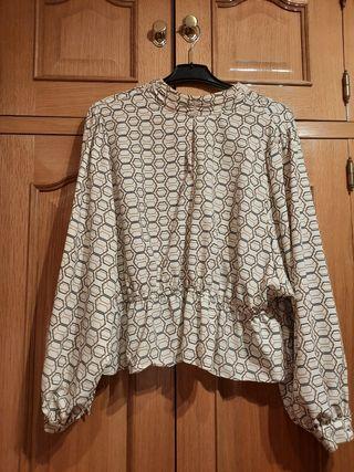 Blusa preciosa talla grande 46