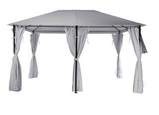 Pérgola cenador con estructura de acero