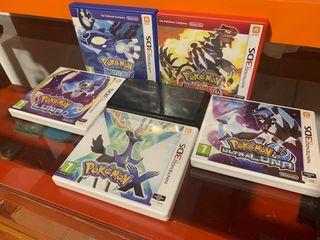 3ds + juegos pokemon