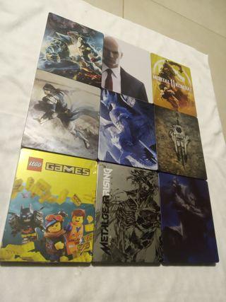 Coleccion 9 Steelbook