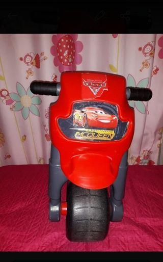 Moto cars+casco toys