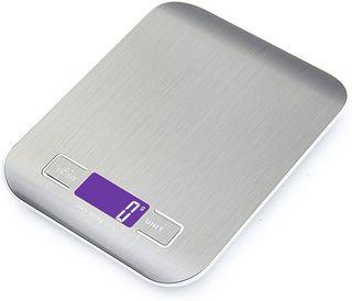 Báscula con pantalla LCD para cocina