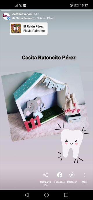 Casita Ratoncito Pérez