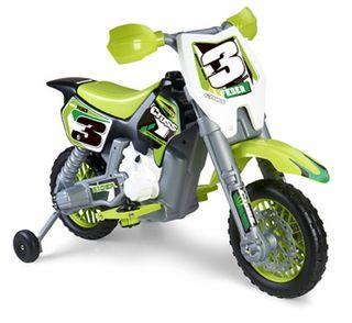 moto cross a batería