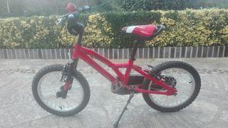 Bicicleta monty 103 bmx