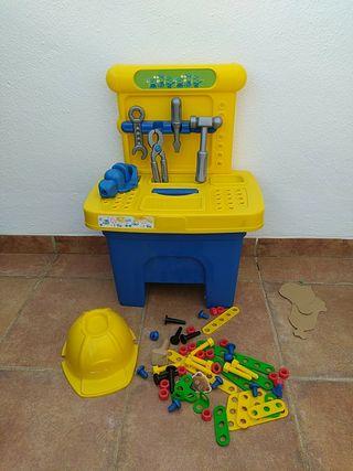 Juguete taller banco de trabajo Minions