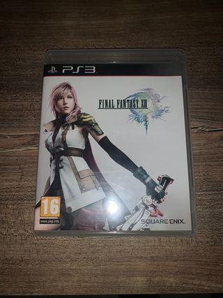 Juego Final Fantasy 13 para PS3
