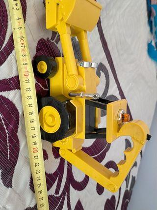 excavadora Bob the builder