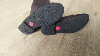 Botas de piel Talla 35