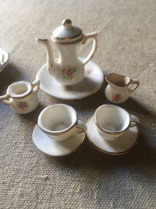 Vintage pack figuretes petites te / cafè
