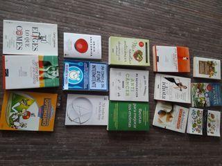 Libros varios de alimentación y otros
