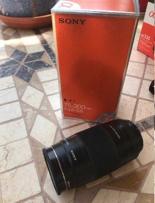 Objetivo Sony 75-300mm