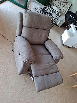 sofa electrico reclinable individual