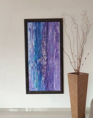 Cuadro abstracto Pintura acrílico
