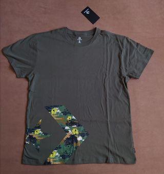 camiseta converse M y L