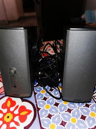altavoces ordenador Bose