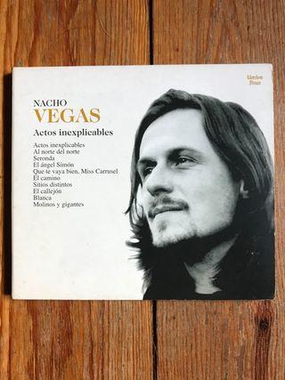 Nacho Vegas. CD Actos inexplicables