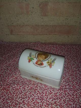 joyero cerámica mi primera comunión
