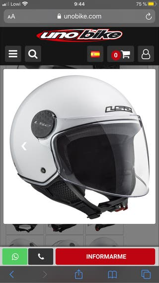 LS2 OF558 Sphere Lux Casco Jet