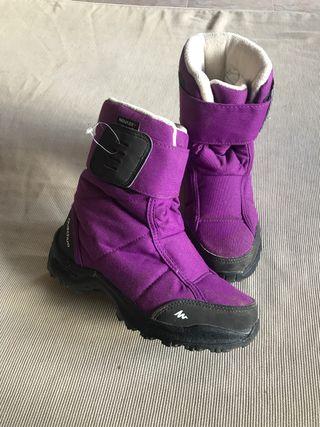 Botas para nieve de niño