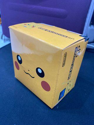 GameBoy Advance SP Pikachu (customizada y repro)