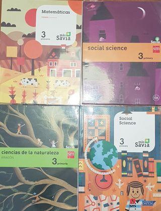 libros 3 de primaria sm