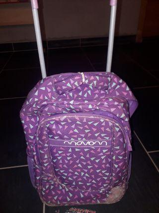 motxilla maleta infantil ruedas