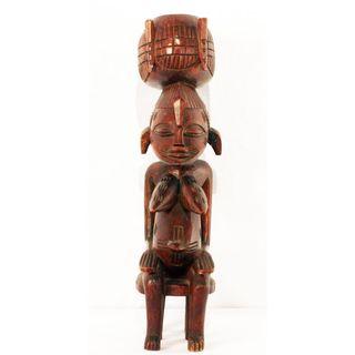 Figuras Madera África