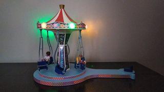 Playmobil carrusel con columpios voladores