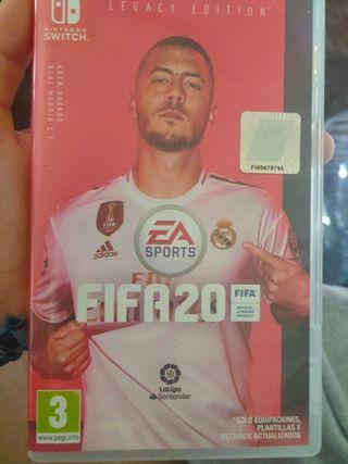 FIFA 2020 de Nintendo switch