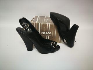 Sandalia de piel Fosco