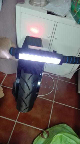 moto eléctrica de una rueda