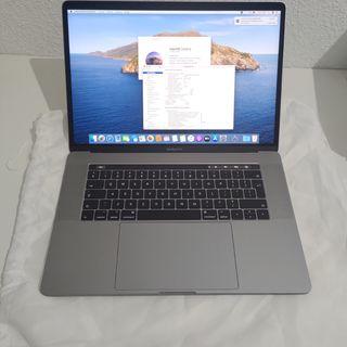 MacBook Pro 15 Touch. Cómo Nuevo.