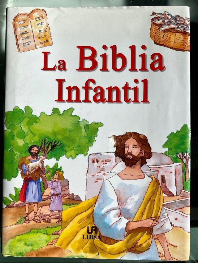 Biblia infantil para niños con ilustraciones LIBSA