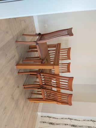 Mesa extensible 6 sillas