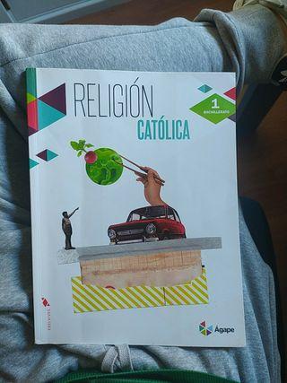 Libro Religion 1º Bachillerato