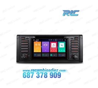 """RADIO DVD GPS TACTIL 7"""" BMW E39 E38 ANDROID 8.0 4G"""