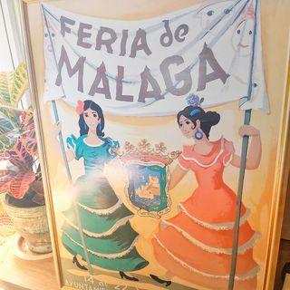 REPRODUCCIÓN CARTEL FERIA DE MÁLAGA