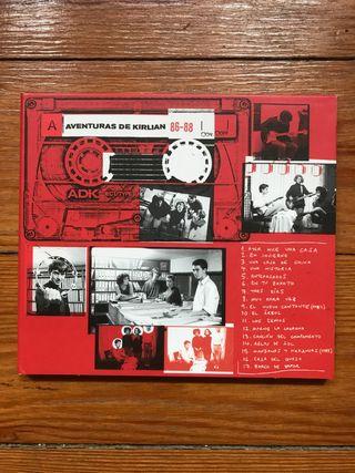 CD Las aventuras de Kirlian 86-88