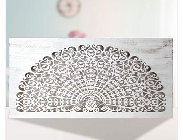 Precioso cabecero mandala artesanal