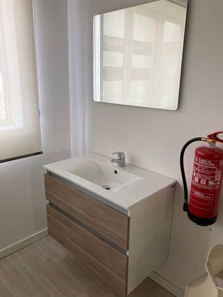 Conjunto mueble baño suspendido (oportunidad)