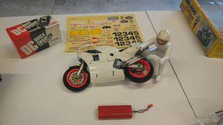 Moto Radio Control Kyosho año 1990