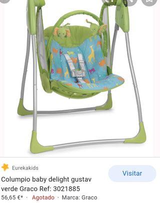 columpio bebé Graco