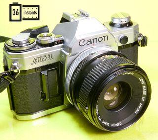 Canon ae1 + 35 mm
