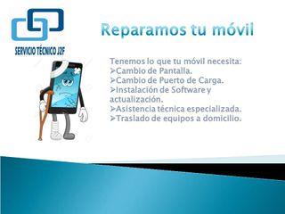 Reparación de móvil, Software y Actualización.