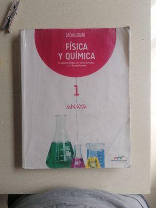 Física y Química 1 Bachillerato Anaya