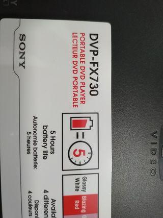 DVD portátil para coche