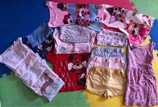 Lote ropa bebé niña