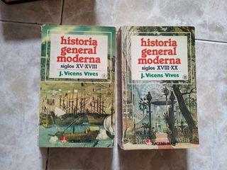 historia general Moderna (XV-XVII-XVIII-XX)